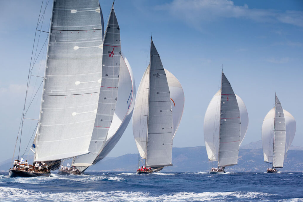 The-Superyacht-Cup-Palma-Spinnaker-Sails-Out