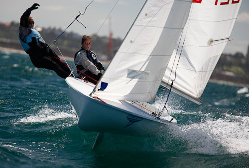 our latest acquisition a 420 sailing dinghy costa blanca yacht