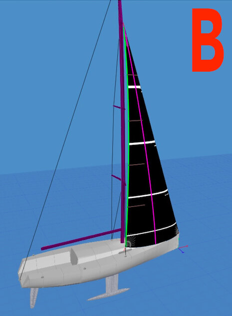 Vertical Headsail Camber – critical for faster boat speed!
