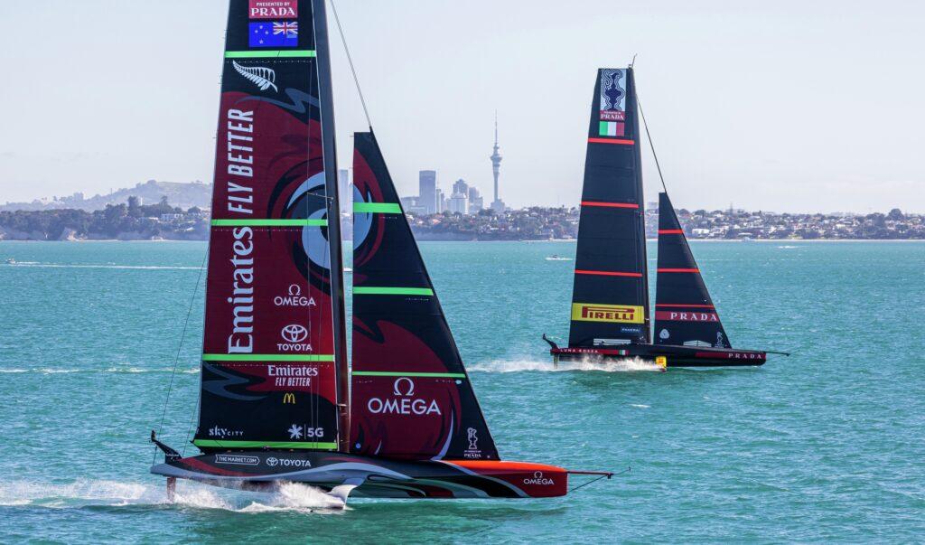 PRADA ACWS Auckland 2020 - Practice Races Day 3