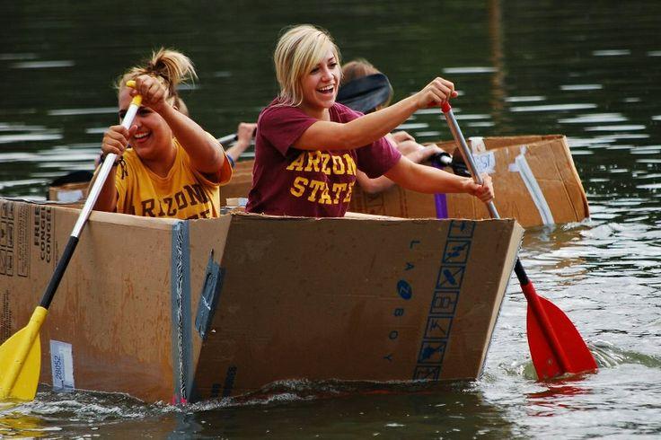 Cardboard Boat Race 2